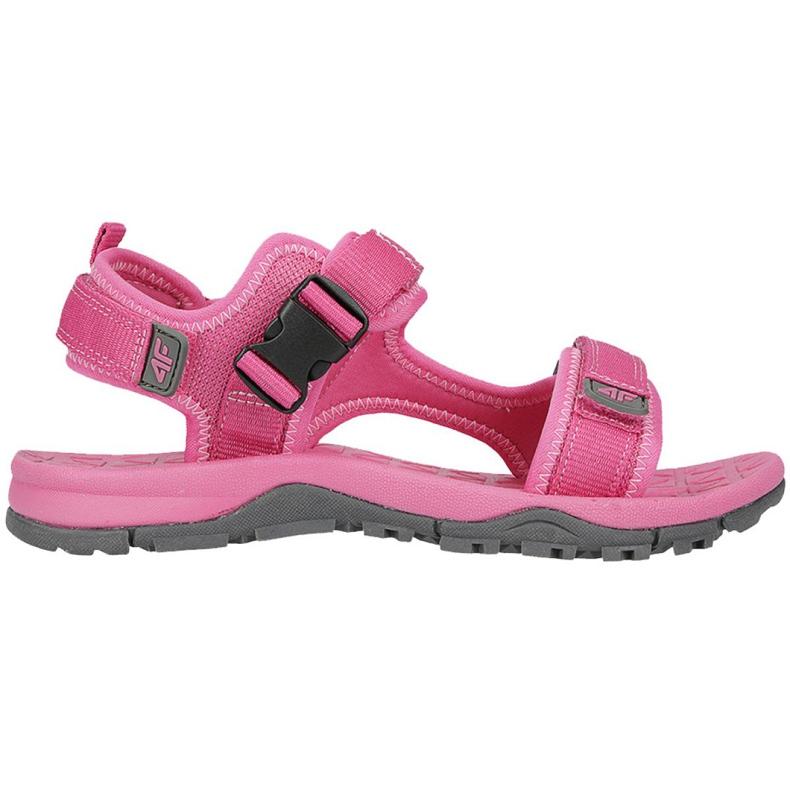 Sandały 4F Jr HJL20-JSAD002 55S różowe
