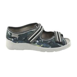 Befado obuwie dziecięce 969Y158 szare