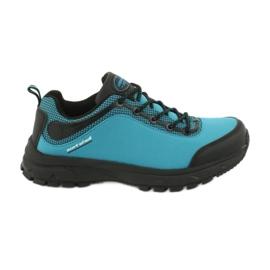 Buty sportowe softshell wodoodporne American Club HL05 czarne niebieskie
