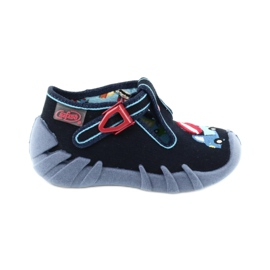 Befado obuwie dziecięce 110P385 granatowe niebieskie