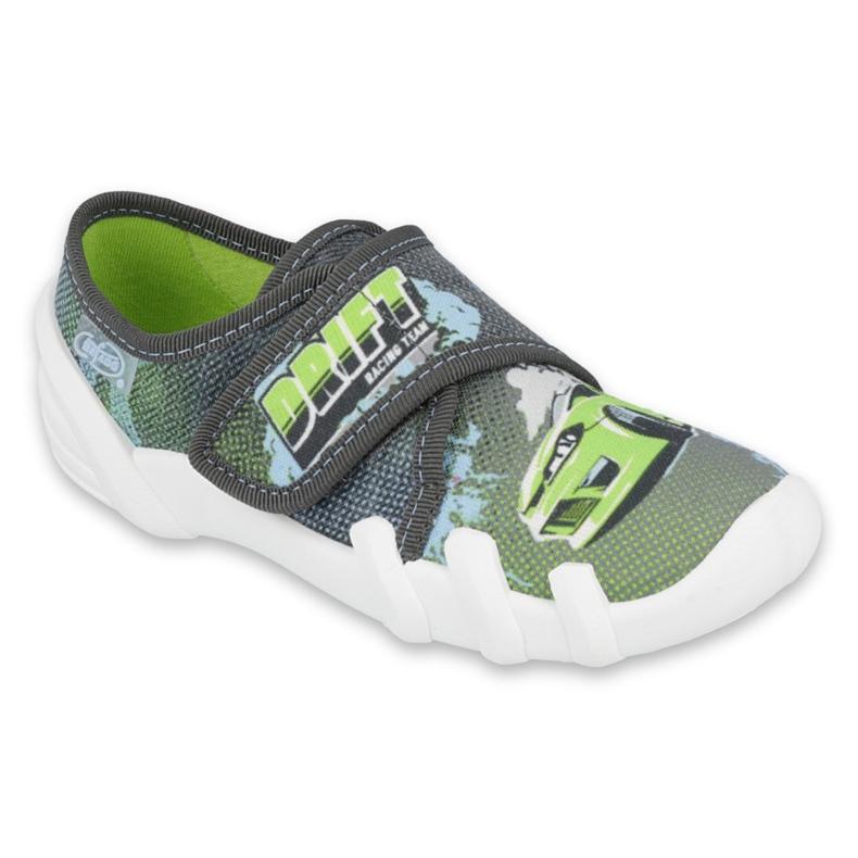 Befado obuwie dziecięce 273X288 szare zielone