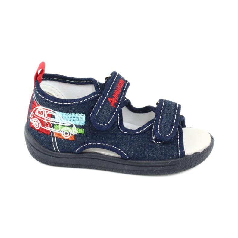 American Club American sandałki buty dziecięce wkładka skórzana TEN46