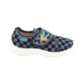 Befado obuwie dziecięce  974X411 czarne szare