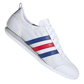 Buty adidas Vs Jog M FX0094 białe czerwone niebieskie