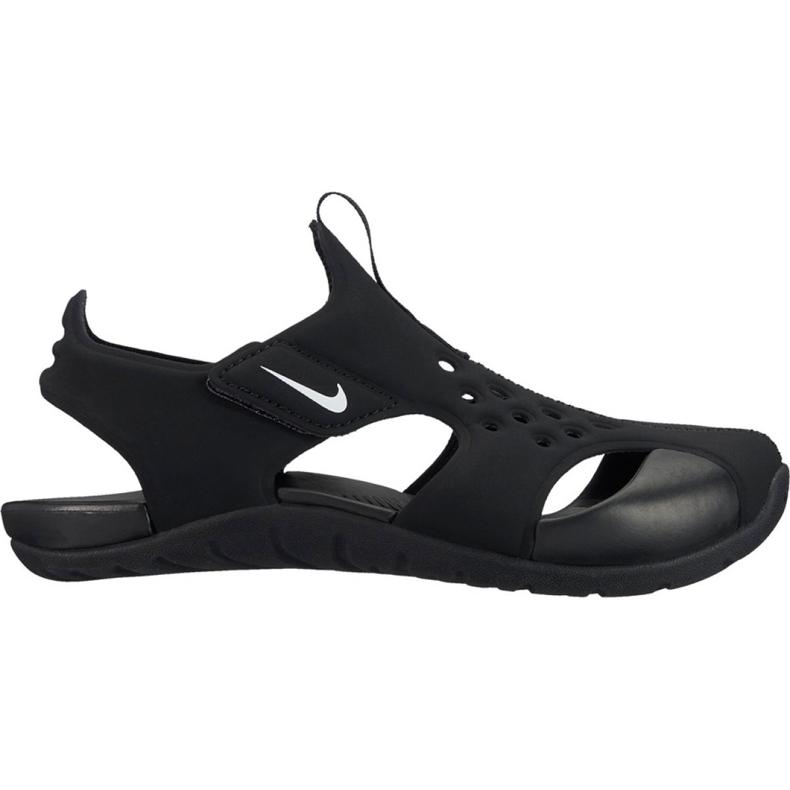 Sandały Nike Sunray Protect Jr 2 943826 001 czarne
