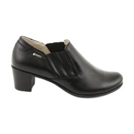 Buty damskie wsuwane Gregors 789 czarne