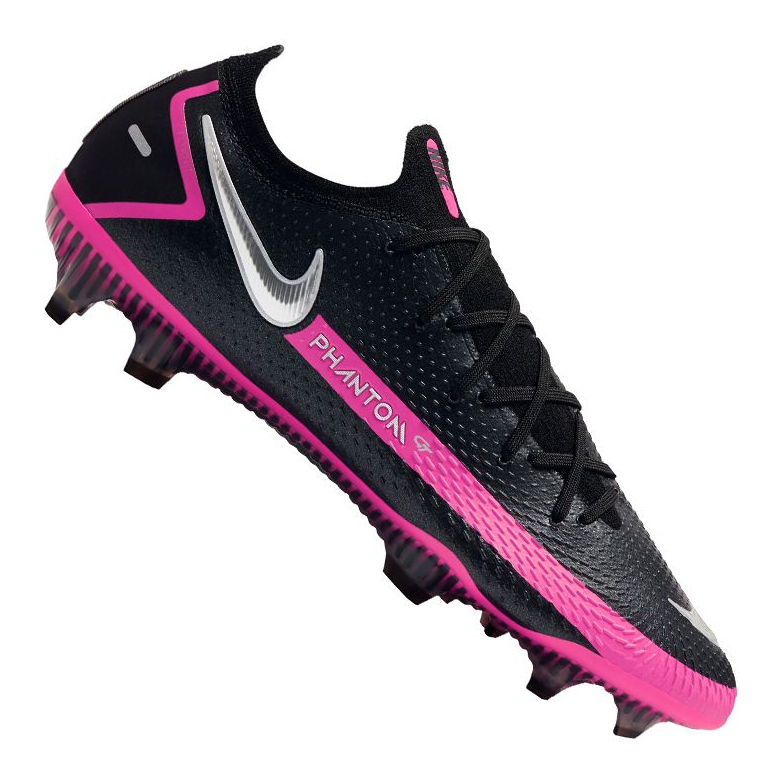 Buty piłkarskie Nike Phantom Gt Elite Fg M CK8439-006 czarne wielokolorowe