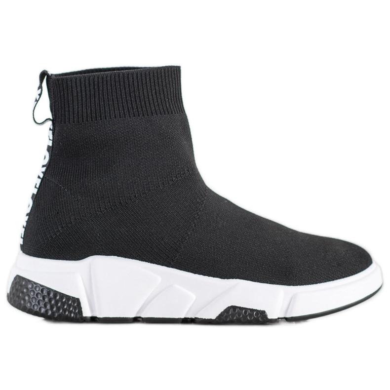 SHELOVET Buty Sportowe Za Kostkę czarne