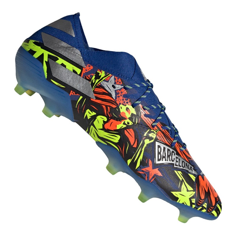 Buty piłkarskie adidas Nemeziz Messi 19.1 Fg M EH0557 wielokolorowe wielokolorowe