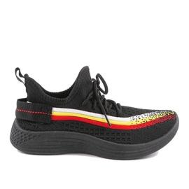 Czarne obuwie sportowe HB-48