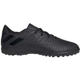Buty piłkarskie adidas Nemeziz 19.4 Tf Jr EG3313 czarne wielokolorowe