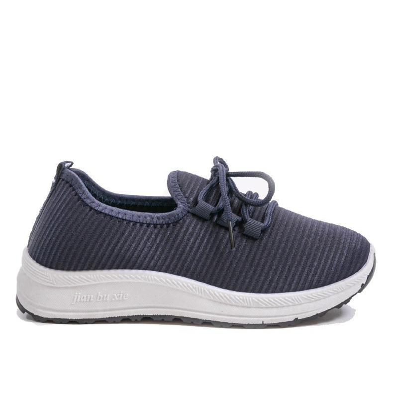 Granatowe wsuwane obuwie sportowe LR005-4