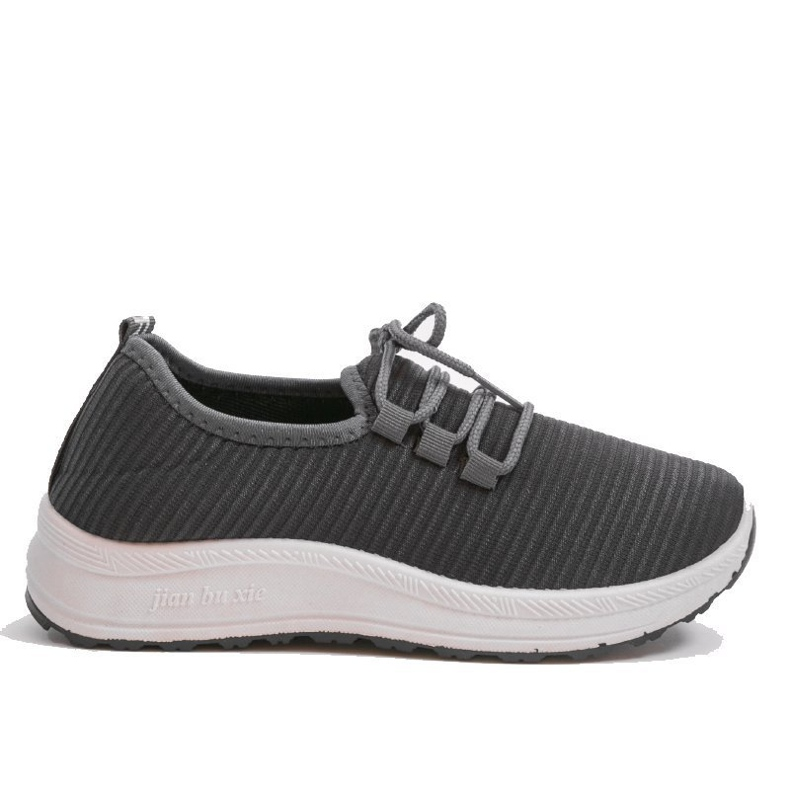 Szare wsuwane obuwie sportowe LR005-3