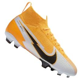 Buty piłkarskie Nike Superfly 7 Elite Fg Jr AT8034-801 żółte wielokolorowe