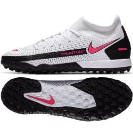 Buty piłkarskie Nike Phantom Gt Academy Df Tf M CW6666-160 białe wielokolorowe