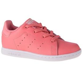 Buty adidas Stan Smith El K EF4928 różowe szare