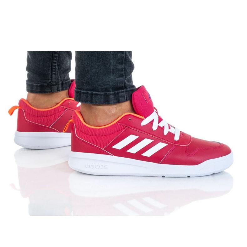 Buty adidas Tensaur K FV9449 granatowe różowe