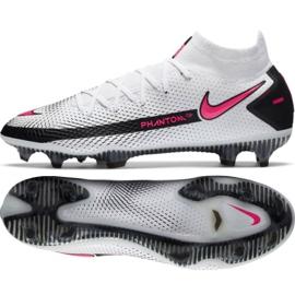 Buty piłkarskie Nike Phantom Gt Elite Df Fg M CW6589-160 białe wielokolorowe