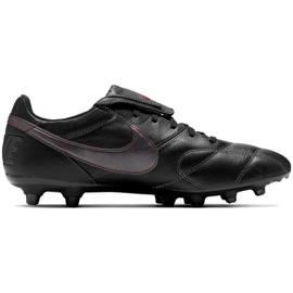 Buty piłkarskie Nike Premier Ii Fg M 917803-061 czarne czarne