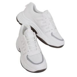 Buty sportowe damskie białe BH-001 White