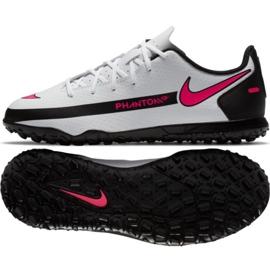 Buty piłkarskie Nike Phantom Gt Club Tf Jr CK8483-160 wielokolorowe białe