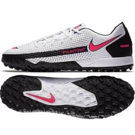 Buty piłkarskie Nike Phantom Gt Academy Tf M CK8470-160 białe wielokolorowe