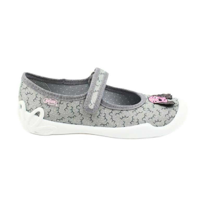 Befado obuwie dziecięce 114Y411 szare