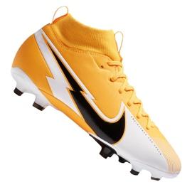 Buty piłkarskie Nike Superfly 7 Academy Mg Jr AT8120-801 wielokolorowe pomarańczowe
