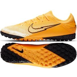 Buty piłkarskie Nike Mercurial Vapor 13 Pro Tf M AT8004-801 żółte wielokolorowe