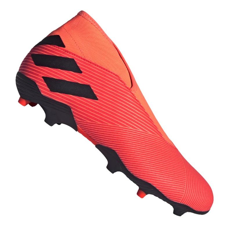 Buty piłkarskie adidas Nemeziz 19.3 Ll Fg M EH1092 wielokolorowe pomarańczowe