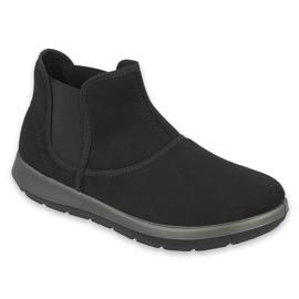 Befado obuwie damskie 156D007 czarne