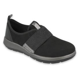 Befado obuwie damskie 156D001 czarne