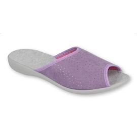 Befado obuwie damskie pu 254D116 fioletowe