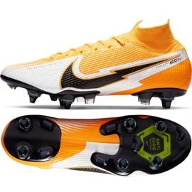 Buty piłkarskie Nike Mercurial Superfly 7 Elite SG-PRO Ac M AT7894-801 pomarańczowe pomarańczowe
