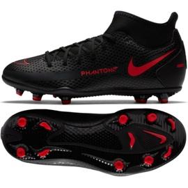 Buty piłkarskie Nike Phantom Gt Club Df FG/MG Jr CW6727-060 czarne wielokolorowe