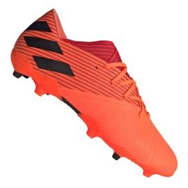Buty piłkarskie adidas Nemeziz 19.2 Fg M EH0293 czerwone czerwone