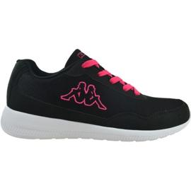 Buty Kappa Follow W 242495 1122 czarne niebieskie różowe