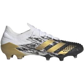 Buty piłkarskie adidas Predator Mutator 20.1 L M Fg FW9182 białe szare