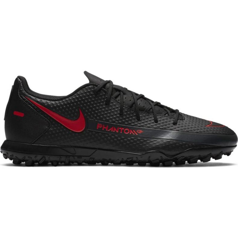 Buty piłkarskie Nike Phantom M Gt Club Tf CK8469 060 białe czarne