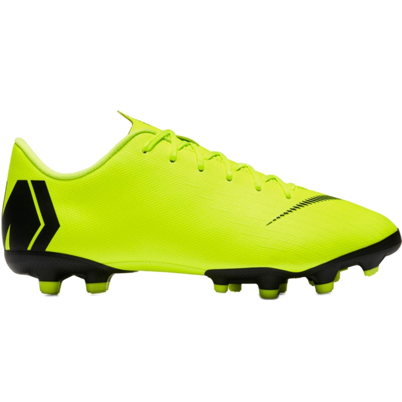 Buty piłkarskie Nike Mercurial Vapor 12 Academy Mg Jr AH7347 701 żółte