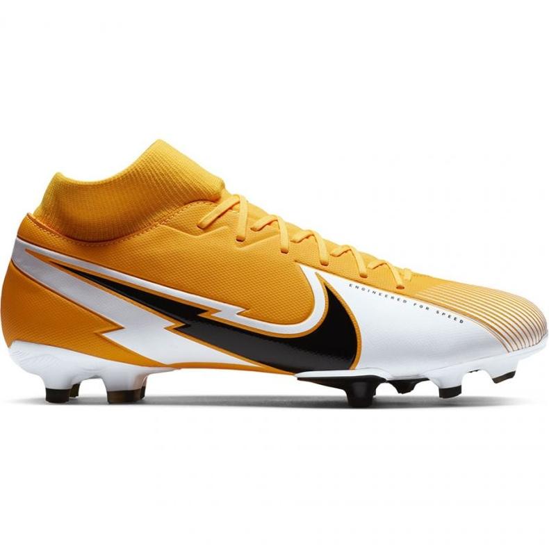 Buty piłkarskie Nike Mercurial Superfly 7 Academy M FG/MG AT7946 801 pomarańczowe wielokolorowe