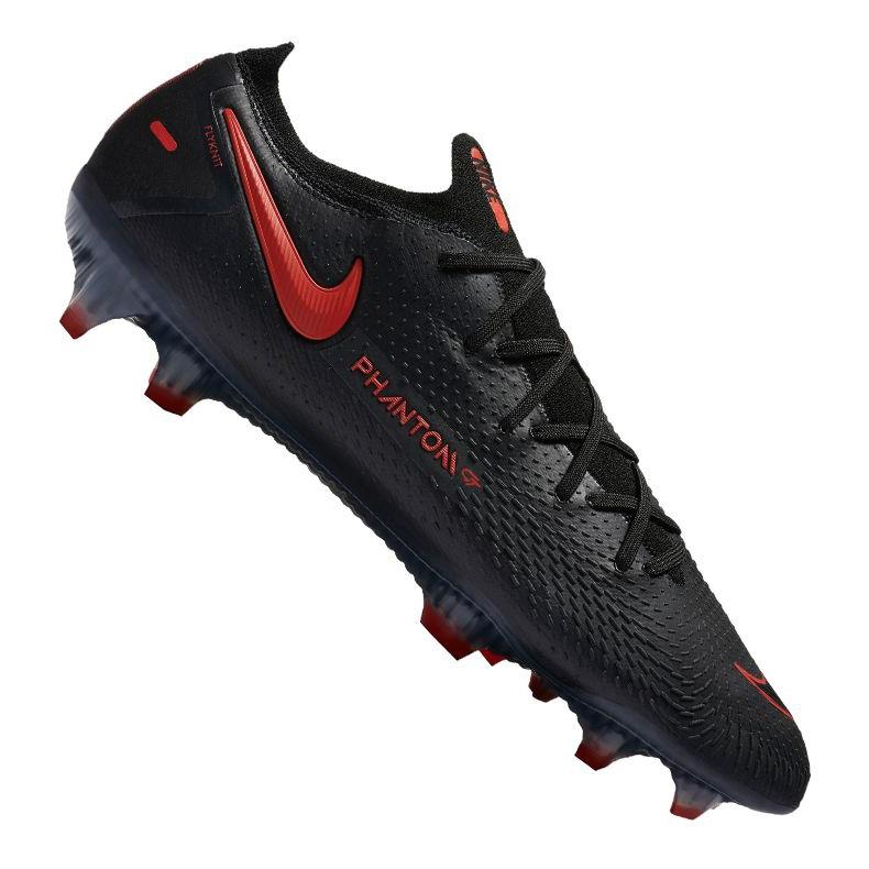 Buty piłkarskie Nike Phantom Gt Elite Fg M CK8439-060 czarne wielokolorowe