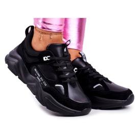 Damskie Sneakersy Big Star Czarne GG274654