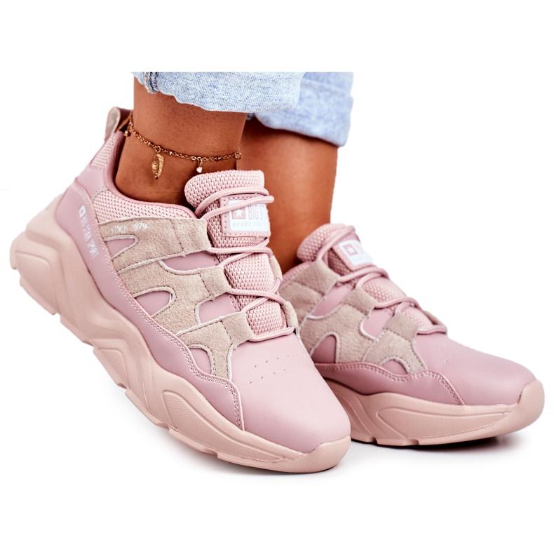 Damskie Sportowe Buty Big Star Różowe GG274637