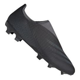 Buty piłkarskie adidas X Ghosted.3 Ll Fg M FW3541 czarne czarne