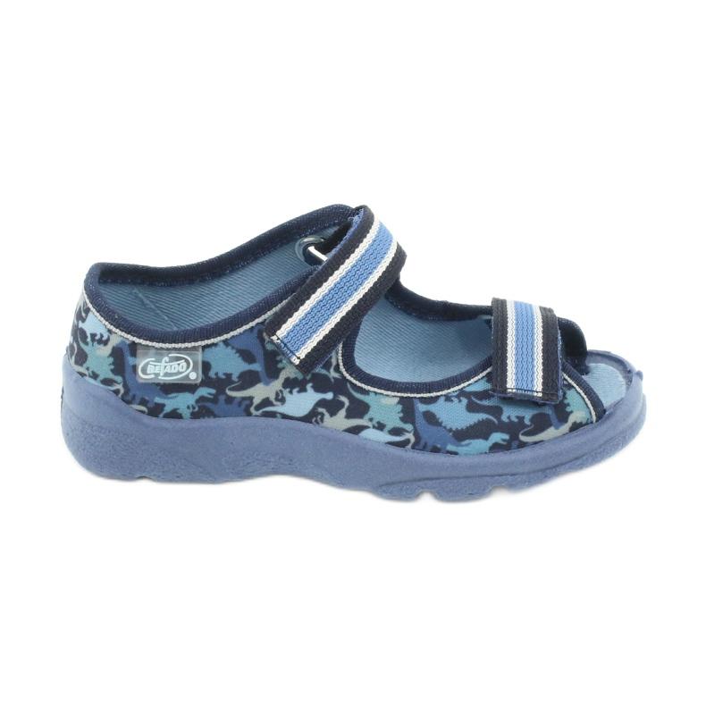 Befado obuwie dziecięce  969X151 granatowe niebieskie