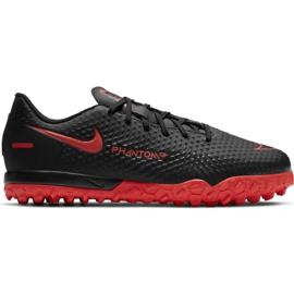 Buty piłkarskie Nike Jr Phantom Gt Academy Tf CK8484 060 wielokolorowe czarne