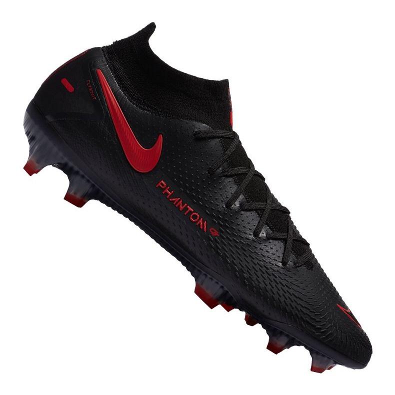 Buty piłkarskie Nike Phantom Gt Elite Df Fg M CW6589-060 czarne czarne