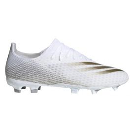 Buty piłkarskie adidas X GHOSTED.3 Fg M EG8193 białe białe