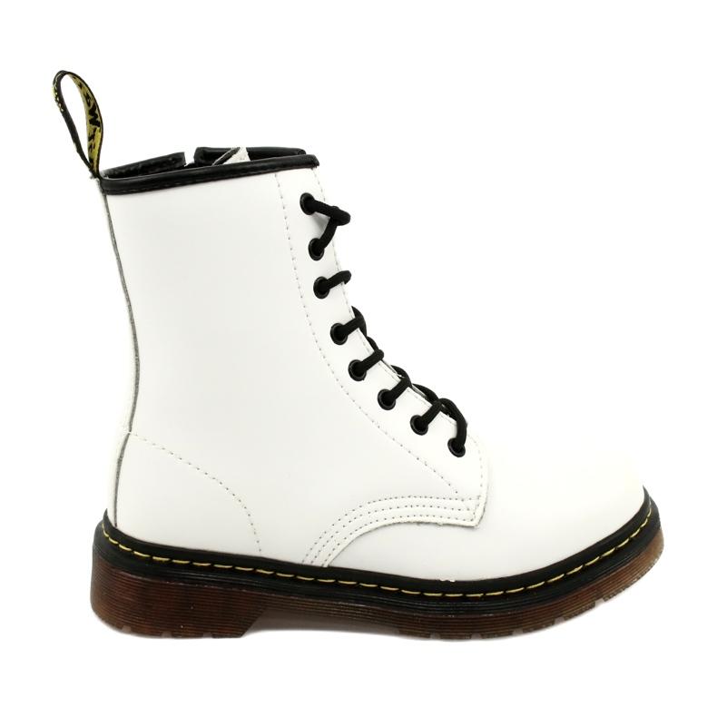 McKey Białe Glany Mckay GL429 WH